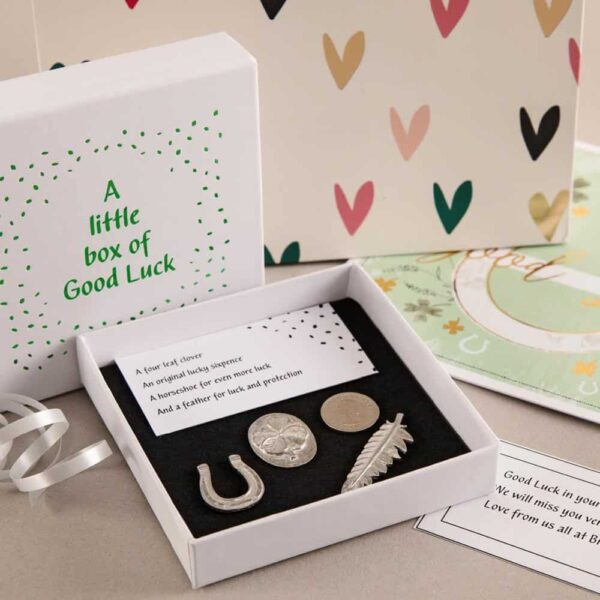 A Little Box Of Good Luck by Compton & Clarke