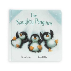 The Naughty Penguins Book by Jellycat