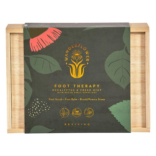 Foot Therapy Gift Set by Wanderflower